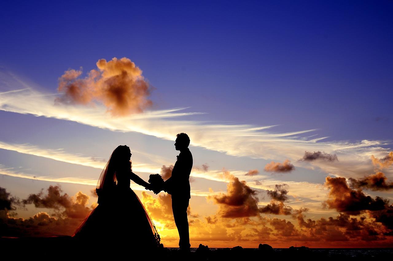 Couples at dark